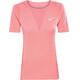Nike Zonal Cooling Kortärmad löpartröja Dam blå